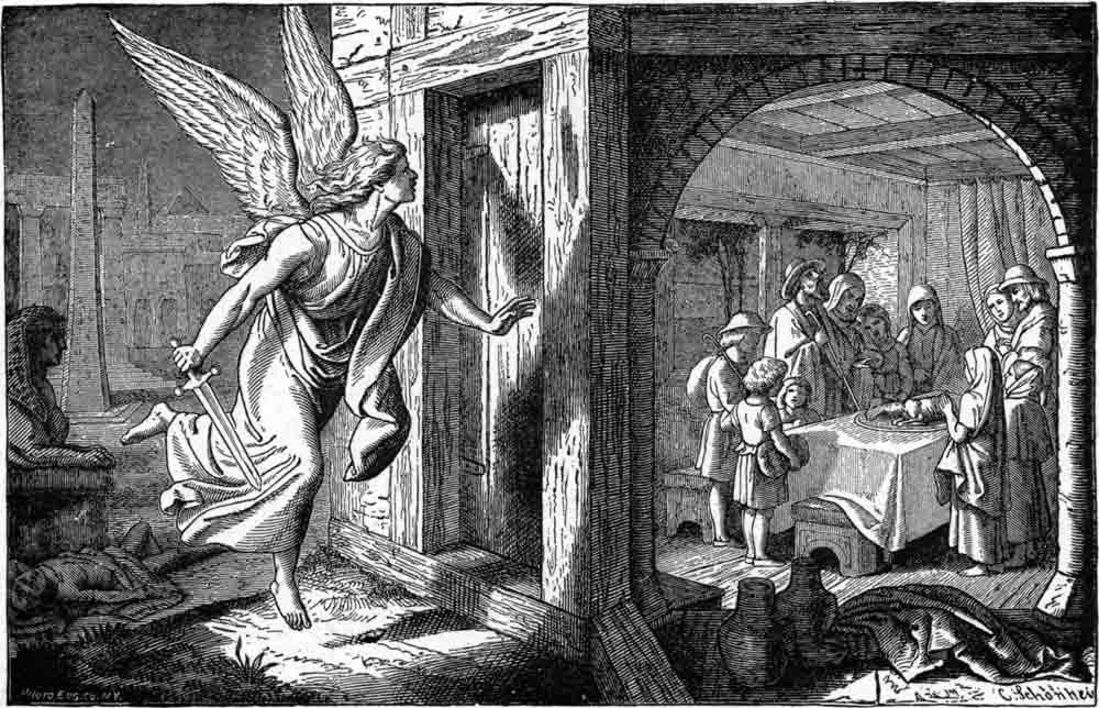 The angel of death and the first passover by Charles Foster