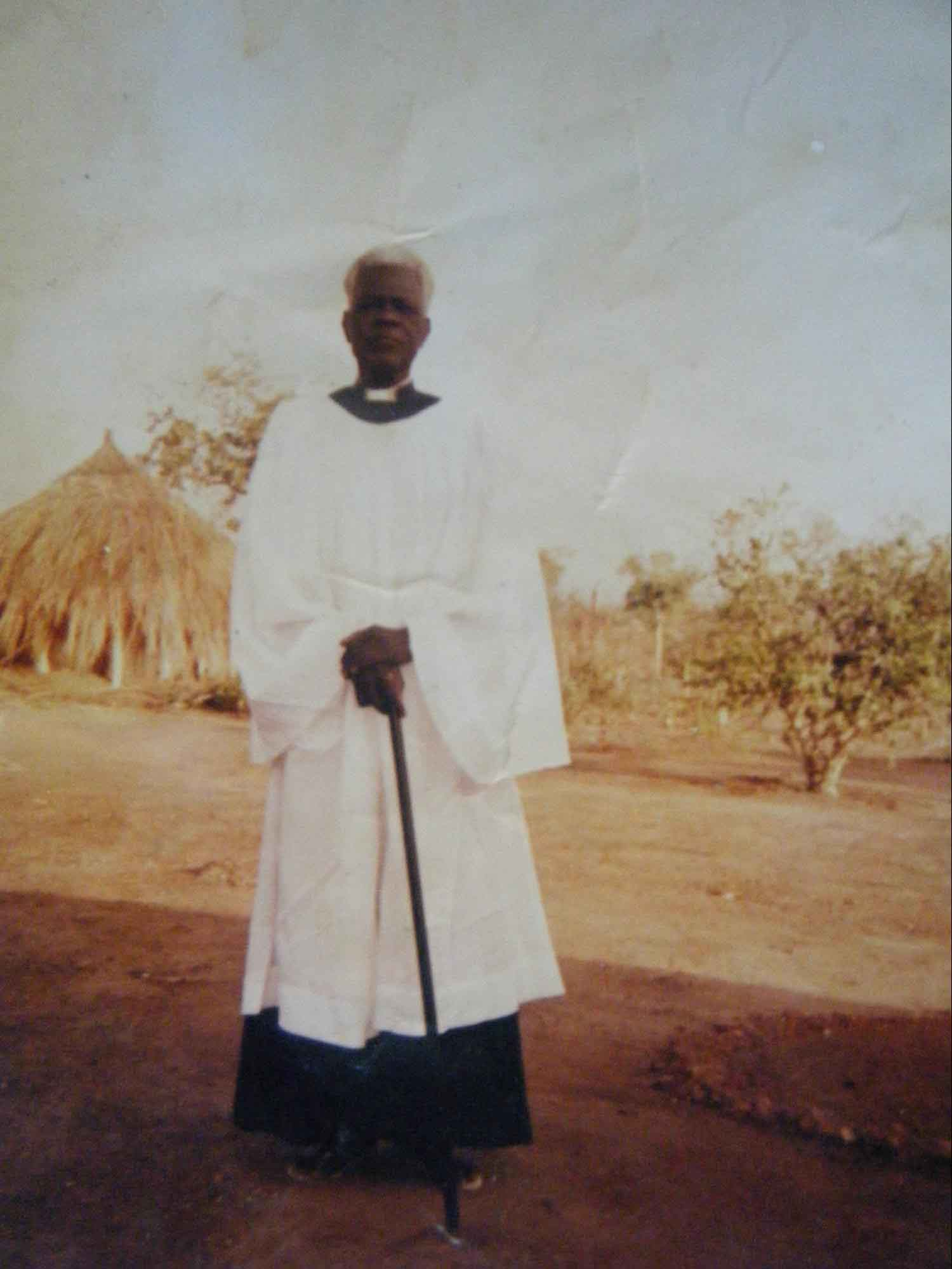 The late Rev. Canon David Gale, who initiated the Keliko Scripture translation