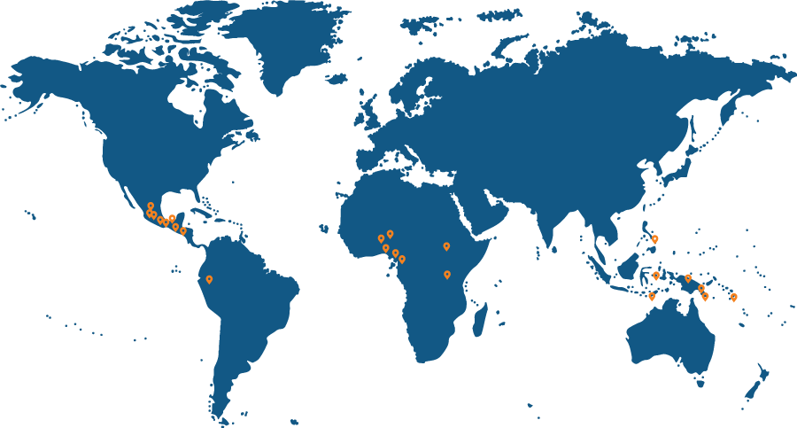 locations of language groups