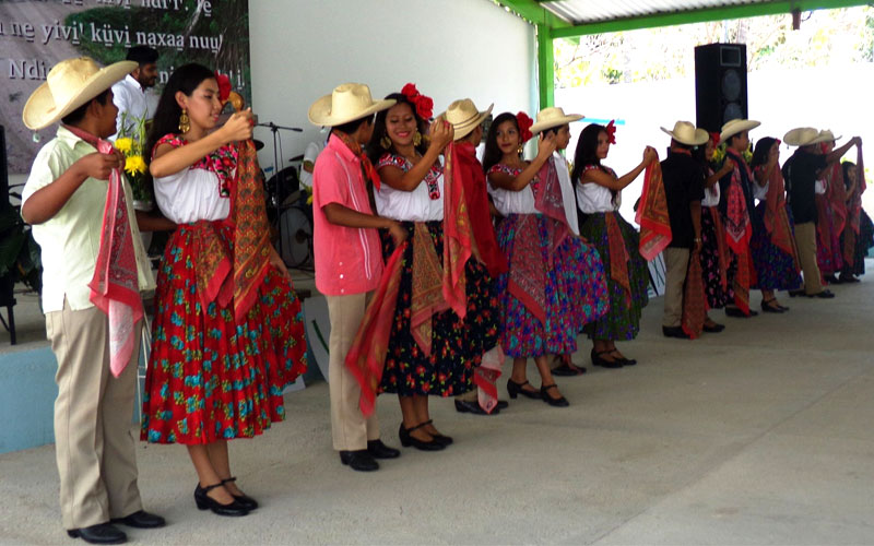San Jose Mixtec celebrating their New Testament
