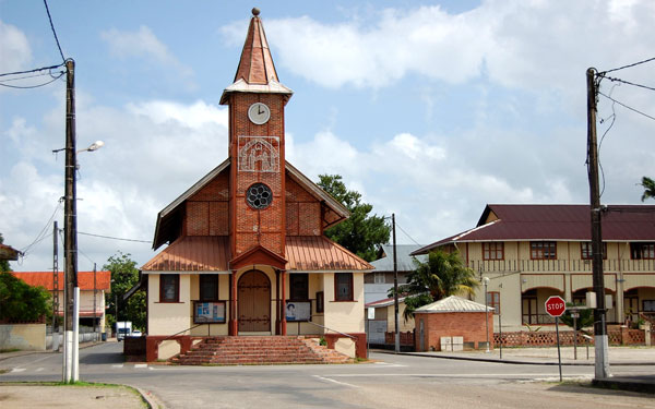French Guiana church