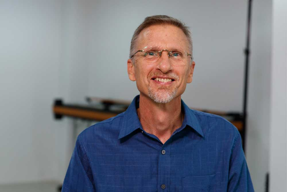 Mark Penner, a Bible translation consultant for Japanese Sign Language and Thai Sign Language