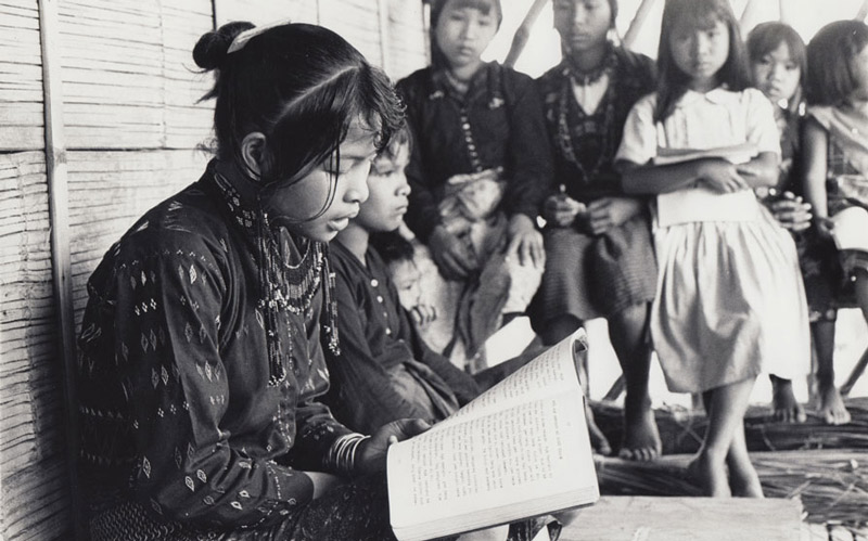 girl reading-Philippines