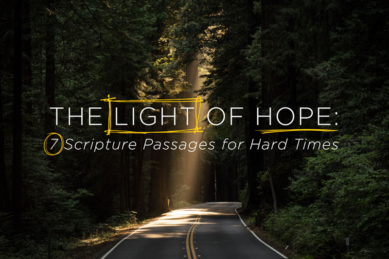 The Light of Hope: 7 Scripture Passages for Hard Times