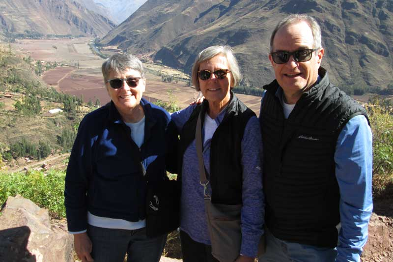 Deb, Jeff, and Nancy in Ancash