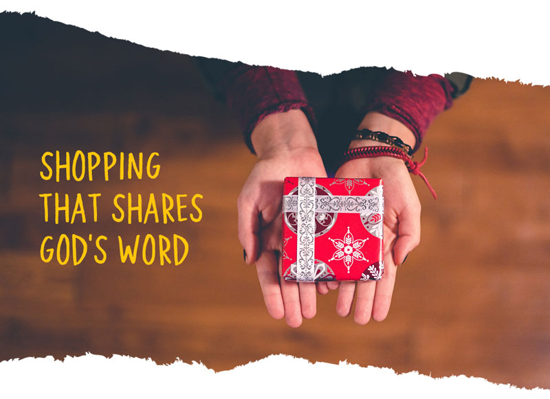 Shopping That Shares God's Word