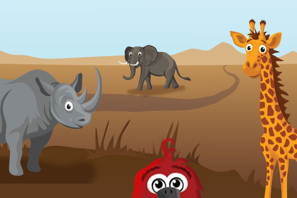 Let's Go on a Safari — Right From Home!
