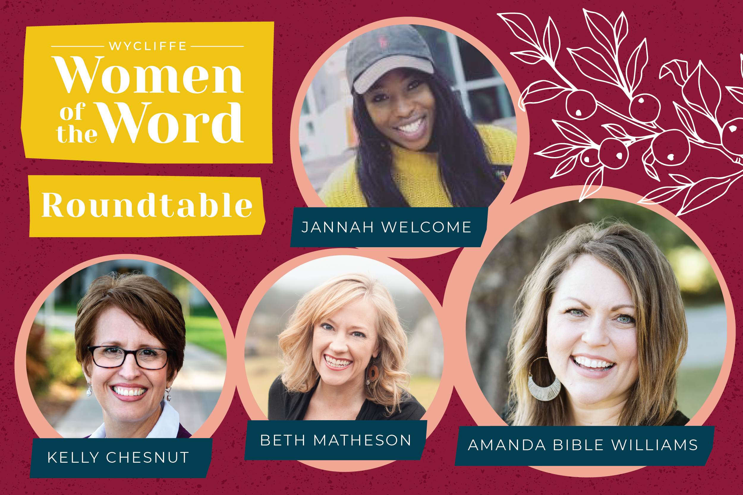 Wycliffe Women of the Word Roundtable: Why Scripture Matters