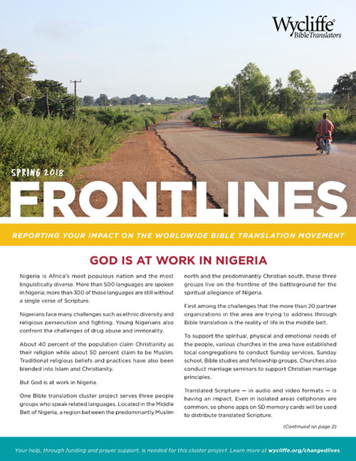 News & Notes from the Field | Wycliffe Bible Translators