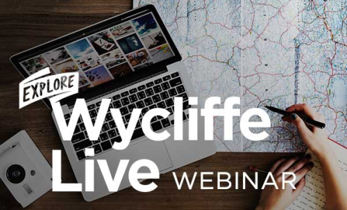 Explore Wycliffe Live Static Page