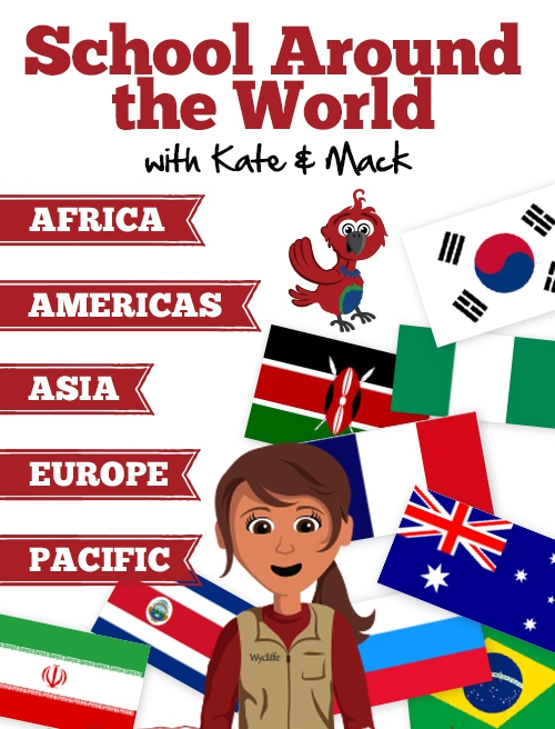 School Around the World with Kate & Mack