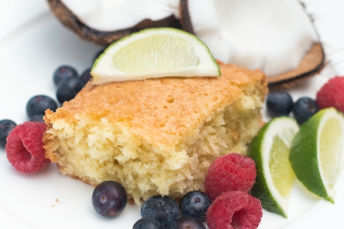 Cooking with Kate & Mack: Coconut Cake