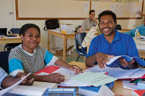Your Gifts at Work: Training for Translating in PNG