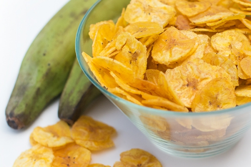 Cooking with Kate & Mack: Plantain Chips