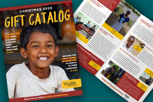 Shop the Wycliffe Gift Catalog: 5 Gift Ideas that Bring Hope