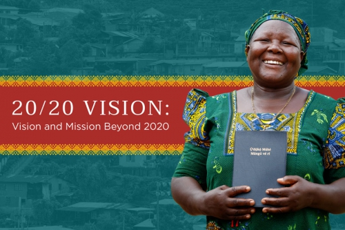 20/20 Vision: Vision and Mission Beyond 2020