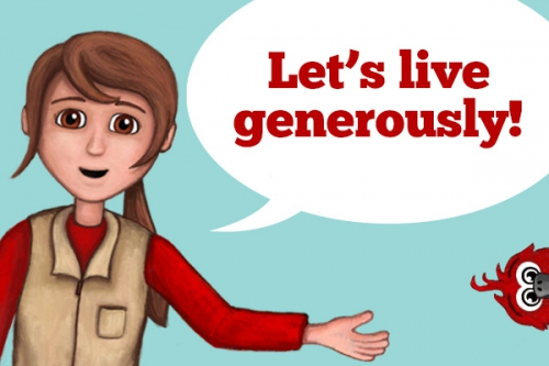 Living Generously: Giving All We Have and Are Back to God